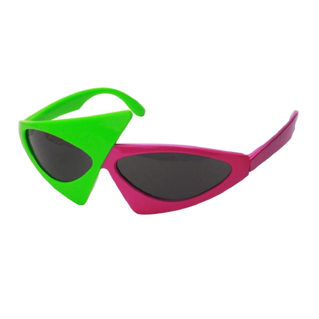 be376df9292 Amazon.com  Fenteer 2 set Adults  Novelty Sunglasses   Vintage Clout  Goggles Glasses  Clothing