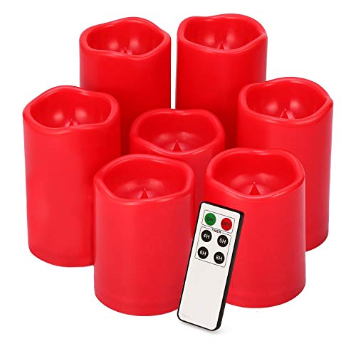 Flameless Candles Waterproof Outdoor Candles Pack of 7 (D 3