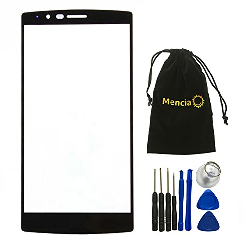 Mencia Phone Parts Black Screen Glass Lens For LG G4 H810 H811 H815 VS986 LS991 F500L With Tools (NO LCD)