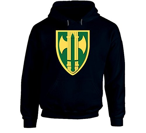LARGE - Army - 18th Mp Bde Wo Txt Hoodie - Navy ()