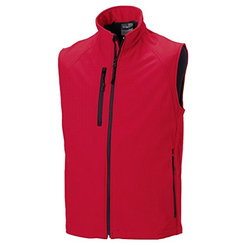 Russell Softshell Classique Classique Russell Rouge Gilet Gilet Russell Softshell Rouge 1T1vqtFxw