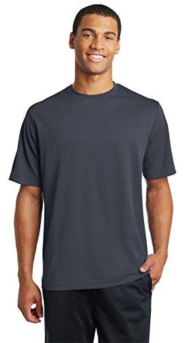 - Sport-Tek ST340 PosiCharge T-Shirt - Graphite Grey - XL