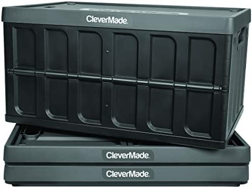 CleverMade Collapsible Storage Bins Lids product image
