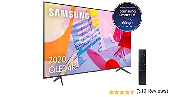 Samsung QLED 4K 2020 55Q60T - Smart TV de 55
