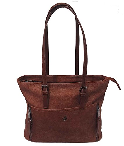 Shopping Beverly Hills Polo Club Shopping Borsa Donna Moro due manici BH1102