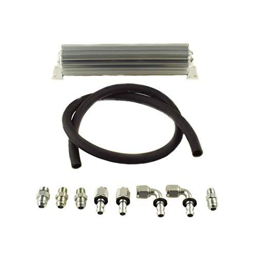 PSC Performance Steering Components HK2098 Return Line Hose/Cooler Kit for 12-18 Jeep Wrangler JK ()