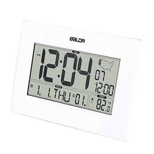 BALDR Atomic Desk bedroom Dual Alarm Clock wall clock Mon...