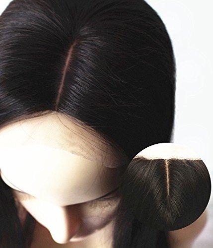 Uniwigs® 5''x5'' Straight Brazilian Remy Human Hair Silk Top Lace Closure (20 inch, Free Part) by uniwigs