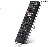 Fosa RMT-TX100D - Mando a distancia de repuesto para Sony Smart TV ...