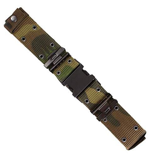 (Red Rock Outdoor Gear 2022WDL G.I.-Type Nylon Pistol Belt - Quick-Release Buckle Woodland)