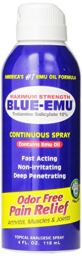 Blue Emu Oil (Blue Emu Continuous Pain Relief Spray, 4)