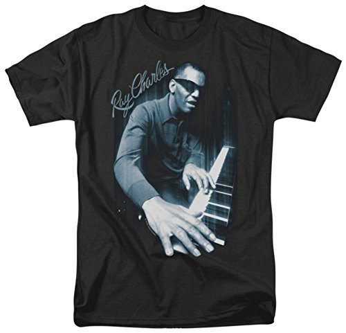 Ray Charles - Blues Piano T-Shirt Size L