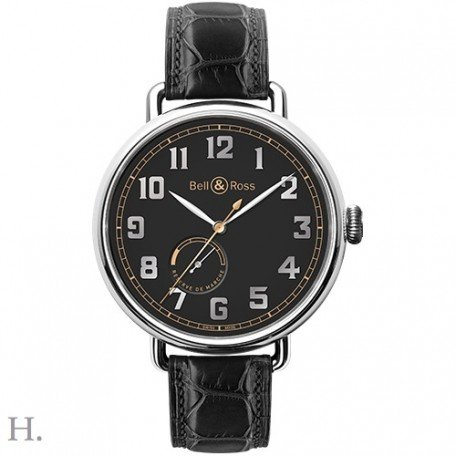 Bell-and-Ross-Black-Dial-Automatic-Mens-Leather-Watch-BRWW197-HER-STSCR