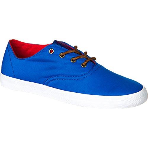 Supra Wrap Shoe - Hombres Blue Nylon, 9.0