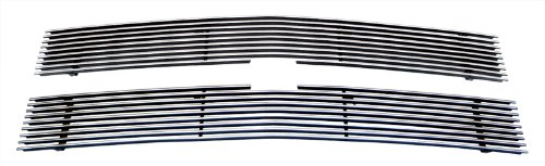 - MaxMate Fits 88-93 Chevy C/K Pickup (Not For Stacked Lights Model)/92-93 Suburban 2PC Upper Replacement Polished Billet Grille Grill Insert