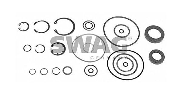 SWAG Steering Gear Gasket Set Fits MERCEDES W208 W202 W124 S202 1244600161