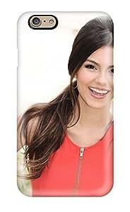 CaseyKBrown Iphone 6 Hybrid Tpu Case Cover Silicon Bumper Victoria Justice