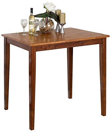 Jofran Counter Height Fixed Top Dining Table in Kura Espresso