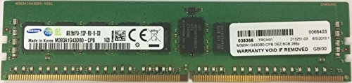 Dell 8GB Certified Replacement Memory Module for Select Dell Systems - 2RX8 RDIMM 2133MHz SNPH8PGNC/8G A7910487 3RD party Equivalent by -
