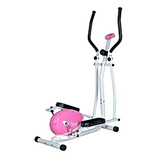 Sunny Health And Fitness Pink Magnetic Elliptical Trainer from Sunny Health & Fitness (SJTT9)