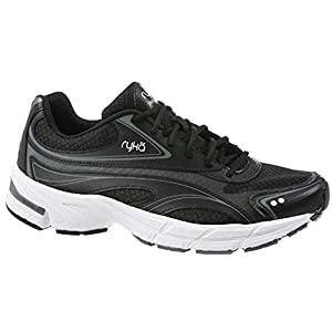 RYKA Women's Infinite SMW Walking Shoe, Black, 7.5 M US