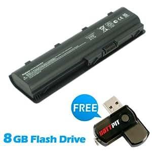 Battpit Bateria de repuesto para portátiles HP Pavilion DV6-6173 (4400 mah) Con memoria USB de 8GB GRATUITA
