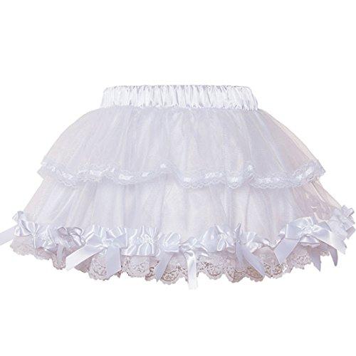 Jupe Sexy Sexy Tulle Lolita Robe Jupes Court De Bal Gothique Femmes Mini Petticoat Blanc Club Multicouche OE7wq