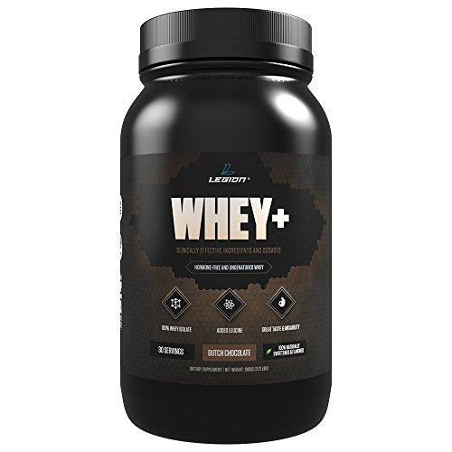100 % Whey protéine de lactosérum Légion + isoler poudre - sucré naturellement - beaucoup de goût et de polyvalence - aucune agglutination - non Amino - aucun inutiles charges ou additifs - de la fortification ne maux d'estomacs - chocolat-30 portions
