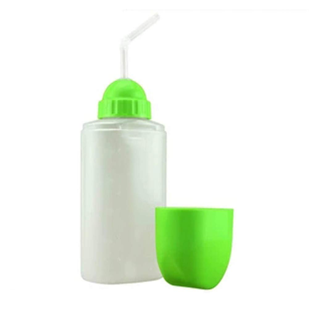 WLIXZ Anti-Smashing Leak-Proof Flowing Food/Drinking Cup for Elderly, Disabled, Sucking Cup,Green