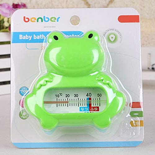 Lynn025Keats Cartoon Baby Water Thermometer Bath Frogs Thermometer Water Sensor Thermometer
