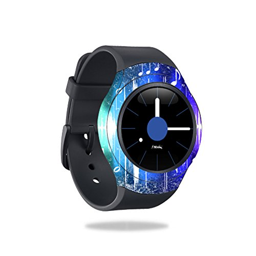 MightySkins Protective Vinyl Skin Decal for Samsung Gear S2 Smart Watch cover wrap sticker skins Music Man