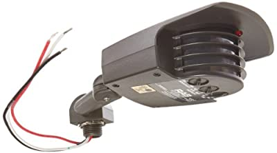 RAB Lighting STL200 Stealth Sensor, Aluminum, 200 Degrees View Detection, 1000W Power, 120V, Bronze Color from RAB Lighting
