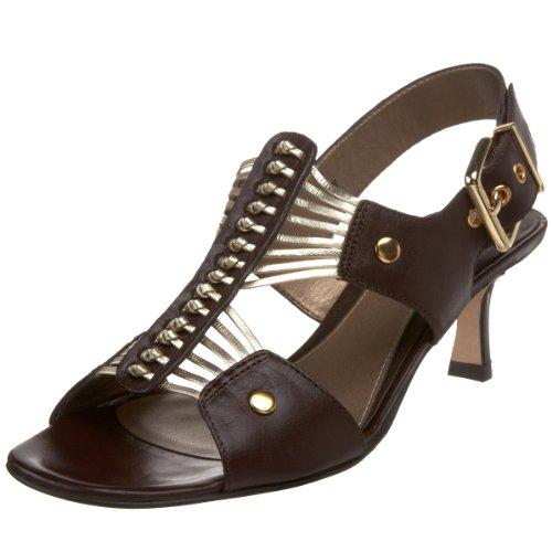 T Brown Strap Sandal Eleana VANELi Platino Women's 4TwqxWzEXv