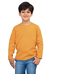 Pulla Bulla Little Boy Long Sleeve Basic Tee Shirt