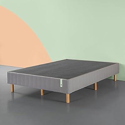 Zinus Quick Snap Standing Mattress Foundation/Platform Bed/No Box Spring needed/Grey