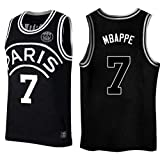 CRBsports Kylian Mbappe,Basketball Jersey,PSG, New Fabric Embroidered,Swag Sportswear