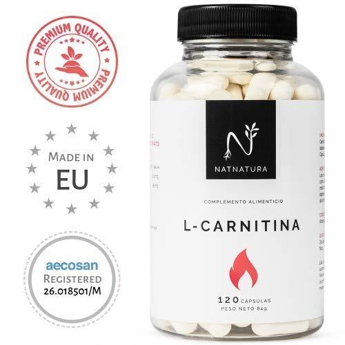L-Carnitina.Complemento Alimenticio de L-Carnitina. Potente quemagrasas para adelgazar.