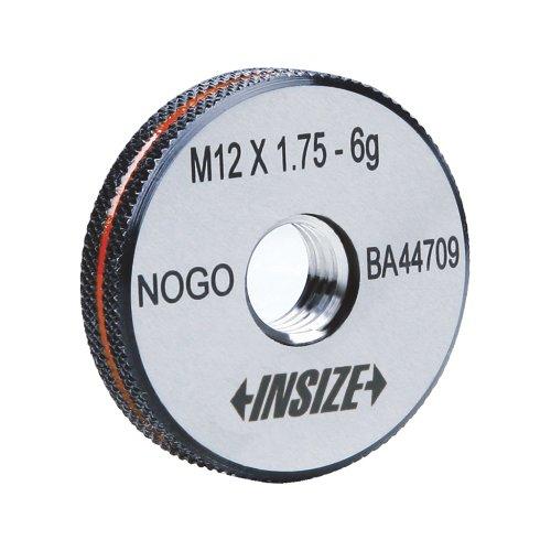 INSIZE 4631-5N Metric Thread Ring Gage, No-go, 6 g, ISO1502, M5 x 0.8 INSIZE CO. LTD