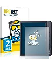 BROTECT 2x Antireflecterende Beschermfolie compatibel met Kobo Libra H2O Anti-Glare Screen Protector, Mat, Ontspiegelend