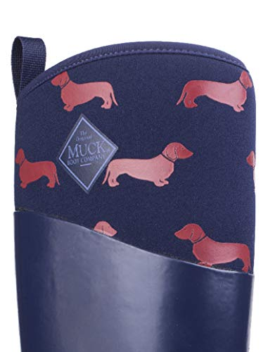 Red Stivali Donna Muck Boots Navy Dogs w17qgITa5