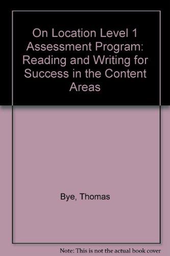 On Location Level 1 Assessment Program - Bye, Thomas