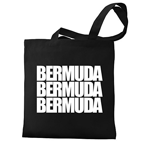 three Bermuda Tote Bermuda words words Canvas Eddany Bag Bag three Eddany Tote Canvas Eddany Apqzx1pw