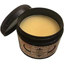 Beesbutter ALL NATURAL Leather Conditioner | Genuine Leather Restorer, Softener, and Protector | Leather Care for Purses, Saddles, Jackets, Shoes, Boots, Gloves, and More | Non- Toxic | Made in USA