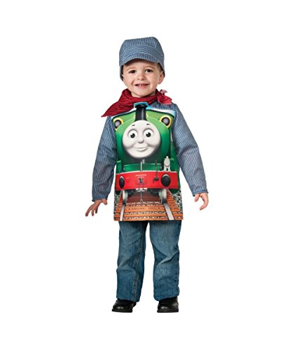 Toddler Thomas The Train Costumes (Thomas the Tank Train Show Book Boys Halloween Costume deluxe)