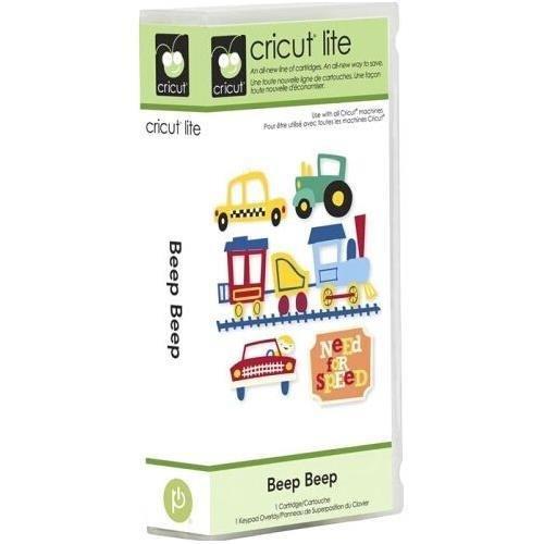 Cricut Lite Cartridge - Beep Beep by Cricut