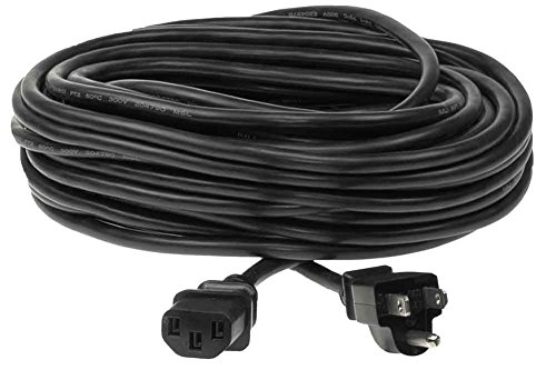 SF Cable, 35ft 18 AWG Universal Power Cord - IEC320 C13 to NEMA 5-15P 10A