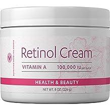 Vitamin World Retinol Cream, 8 Ounce
