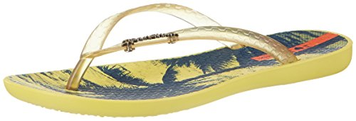 Ipanema Damen Wave Tropical Fem Zehentrenner Mehrfarbig (yellow/yellow)