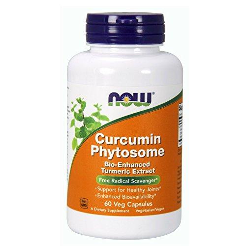 NOW Curcumin Phytosome,60 Veg Capsules