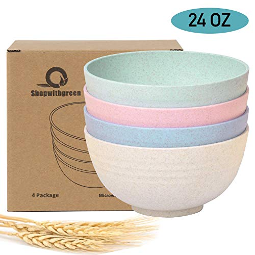 Shopwithgreen Unbreakable Cereal Bowls